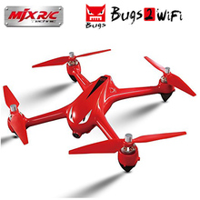 MJX R/C B2W Bugs 2 W Wifi FPV RC Drone GPS Brushless RC Quadcopter Drone Dengan 5G 1080 P hd Kamera Ketinggian Terus Tanpa Kepala RC Helico