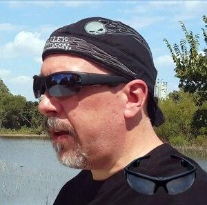 Image 2 - أحدث 6B سماعة رأس بخاصية البلوتوث النظارات الشمسية الموسيقى ميكروفون العظام التوصيل نظارات سماعة مع 3 عدسات ملونة مختلفة هدية
