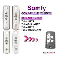 FOR Somfy Telis 4 RTS Somfy Telis 4 Soliris RTS Compatible Garage Door Remote Control