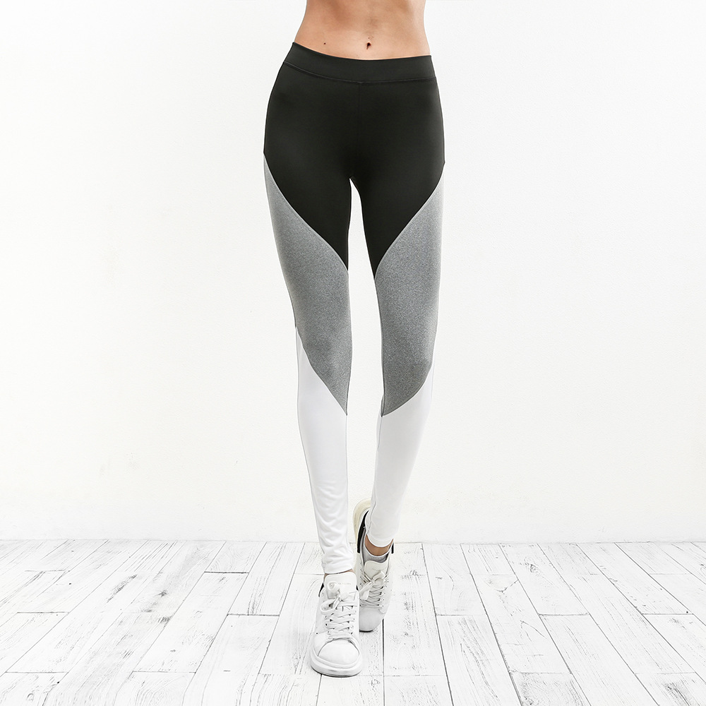 2018 High Quality Women Running Pants Yoga Pants Quick Dry High Elasticity Leggings Gym Sports Jogging Trousers Free Shipping