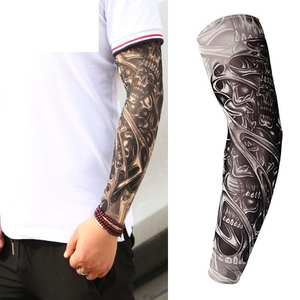 Senza Fretta 1 pc Men Tattoo UV Arm Warmer Arm Sleeves