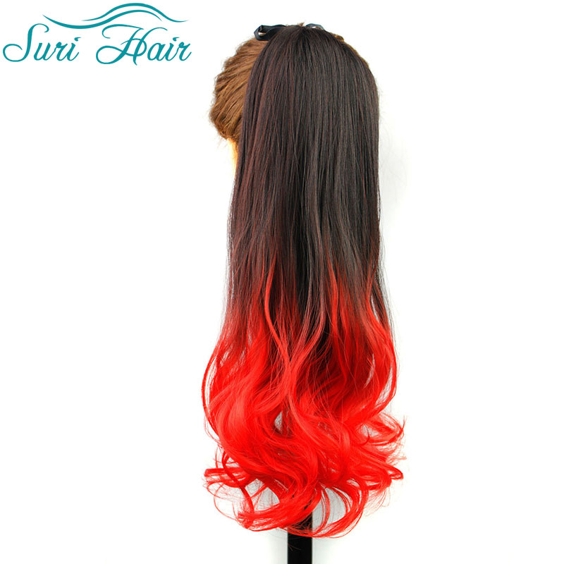 Hair heels picture more detailed picture about synthetic ombre synthetic ombre ponytails 22 inches long wavy ponytail hairpieces best synthetic weave hair extensions fake pmusecretfo Choice Image