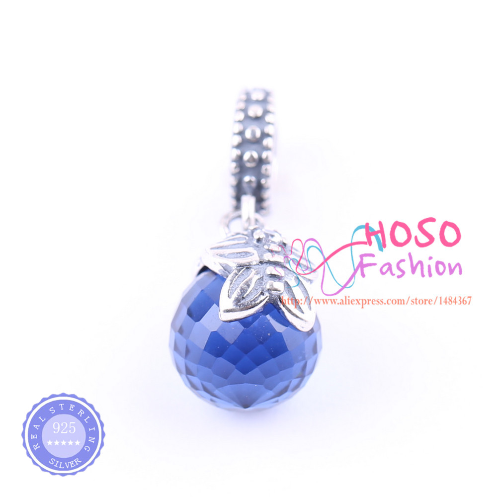 Good Quality 925 Sterling Morning Butterfly, Pink & Blue CZ Pendant Charm Fit Bracelet Necklace DIY Jewelry HSSJ-443