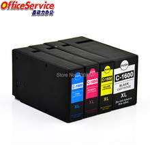 Compatible ink Cartridge PGI-1600 BK C M Y PGI1600 PGI-1600XL For Canon MAXIFY iB4060 MB2060 MB2360 printer