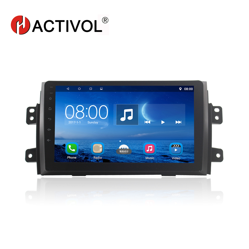 HACTIVOL 9 car radio for Suzuki Sx4 2006 2012 Fiat sedici 2006 2010 android 7 0