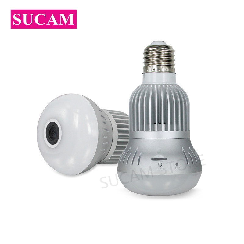 SUCAM Home Security 3MP Mini font b Wireless b font IP Camera Indoor Panoramic 360 Degree