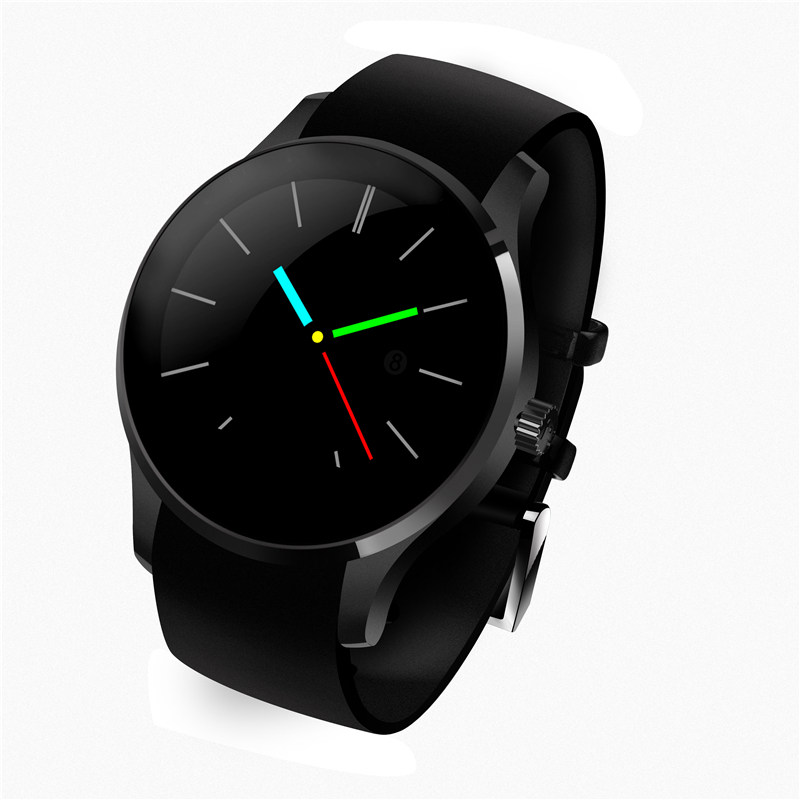 Waterproof Round SIM Bluetooth Smart Watch Phone Heart ...