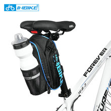 INBIKE Bicycle Accessroies Large Capacity Bicycle Saddle Bag Waterproof MTB Bike Rear Seatpost Bag Reflective Cycling