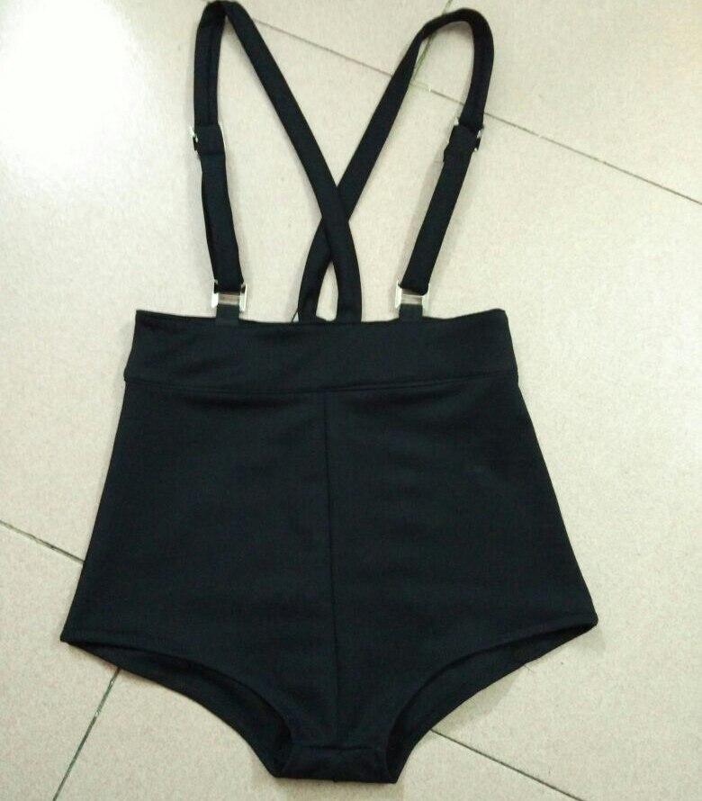 2018 Summer Harajuku Shorts Women High Waist Casual Sexy Suspenders Shorts for Gothic Girls