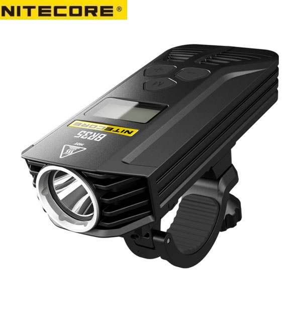 Nitecore BR35 1800 Lumen Rechargeable Bike Light With Dual Distance Beams Includes Eco Sensa USB Cable