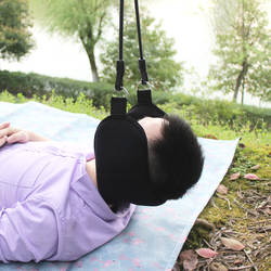 Сверхлегкий шейный гамак для шеи боль шейные нервы облегчение расслабляющий гамак домашний офис шеи массажер для сна подушка для сна
