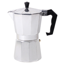 Stovetop Coffee Maker Aluminum Mocha Espresso Percolator Pot Coffee Maker Mocha Pot 1cup/3cup/6cup/9cup/12cup