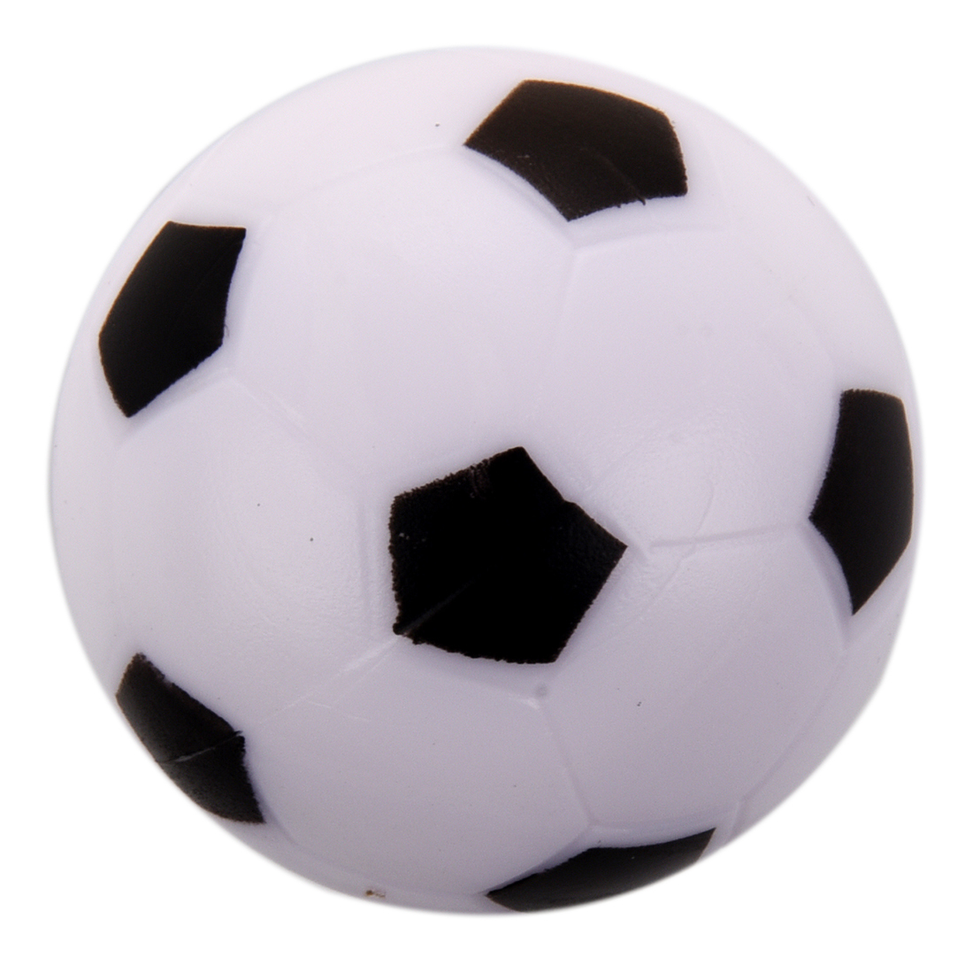 Small Soccer Football Table Ball Plastic Hard Homo Logue Children Game Toy Black White