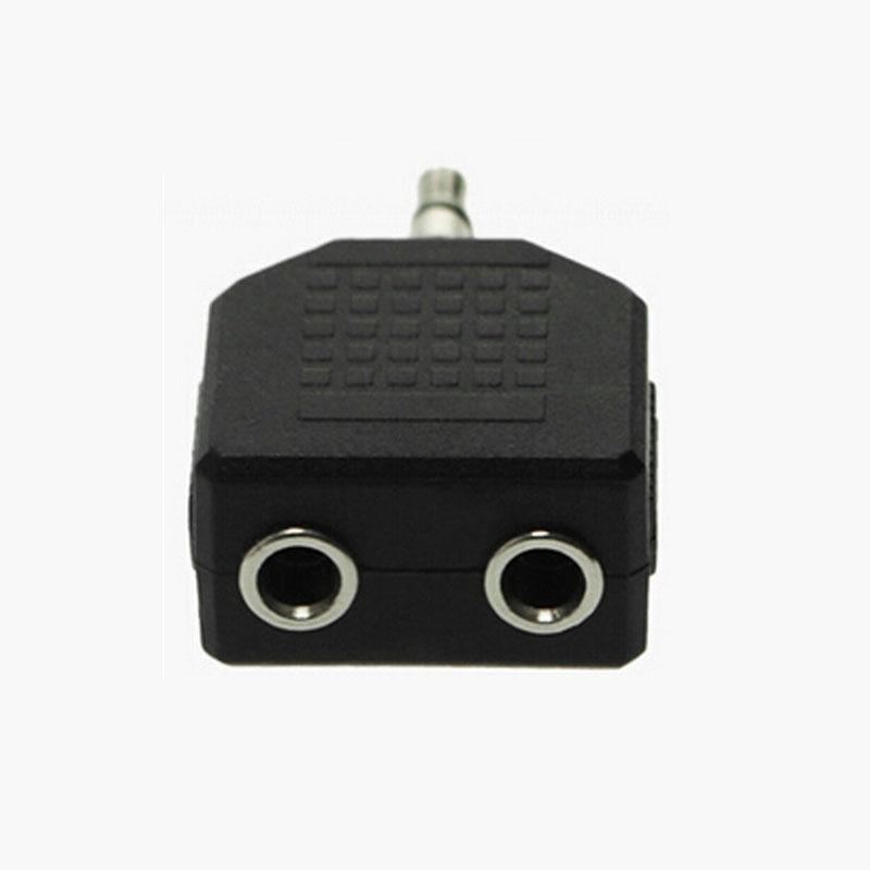 Earphone double adapter - earphone microphone splitter