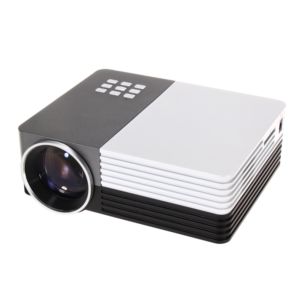 Buy newest design gm50 portable mini led projector hd for Best hd pocket projector
