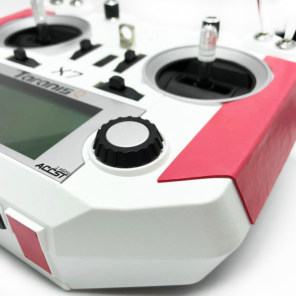 Non-Slip Cortex Grip & Foot Pad Red Black For FrSky Taranis Q X7/X7S RC Drone Transmitter