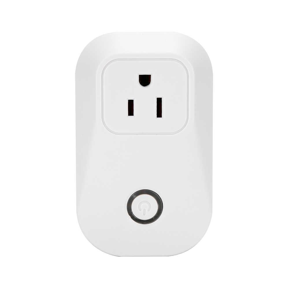 Adaptador de Carga inteligente para el hogar Sonoff S20 interruptor inteligente WIFI toma de corriente de Control remoto UE/EE. UU./Reino Unido carga estándar adaptador