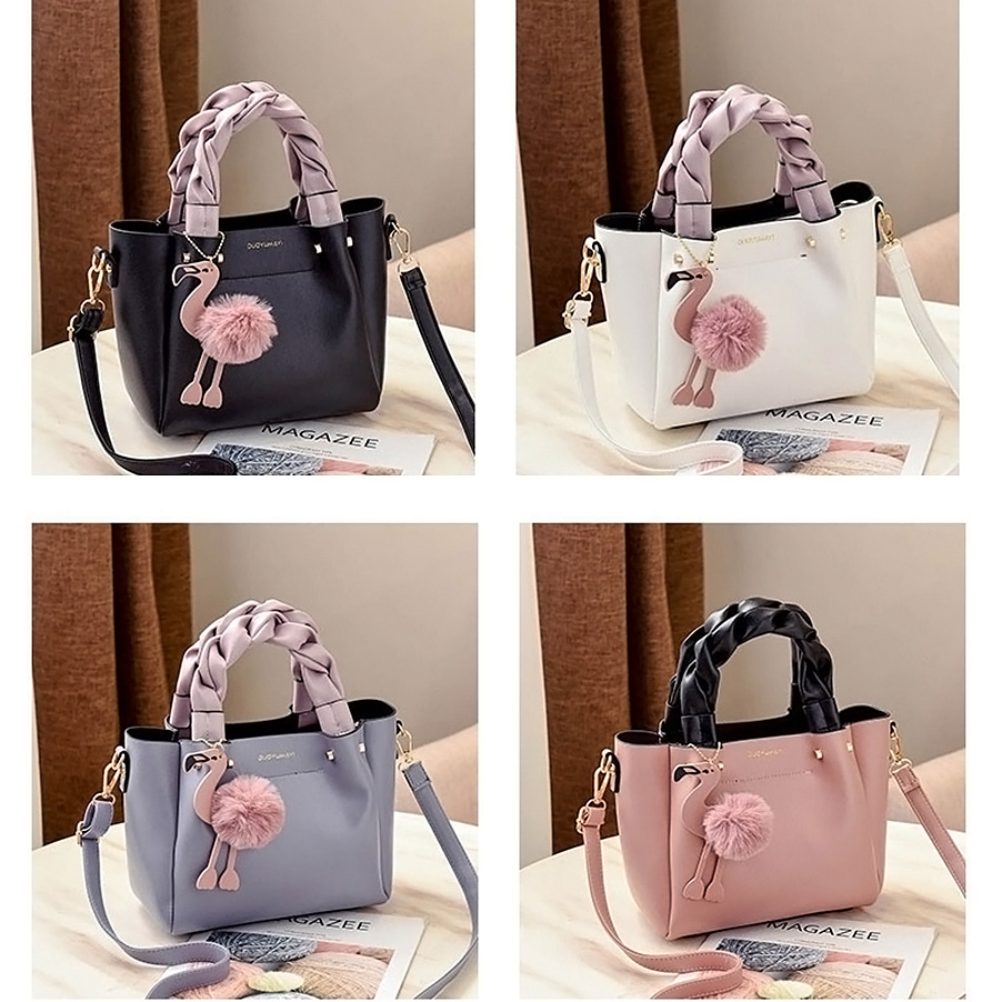 Cute Flamingo Shoulder bags