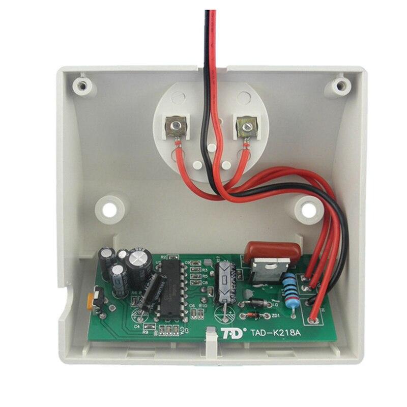 TD TAD-K218A E27 220V Infrared Motion PIR Sensor Automatic LED Light Lamp Holder Switch