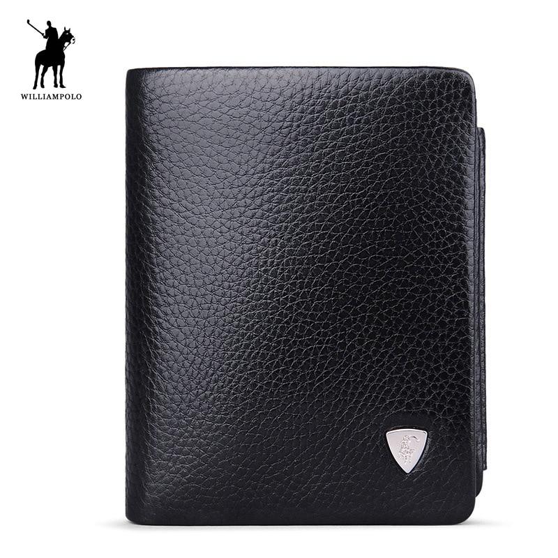 Luxury Brand TIME LIMITED SELL WilliamPOLO Itaalia ehtne nahk 3 korda kaardihoidjad Lühike mündi rahakott PL138