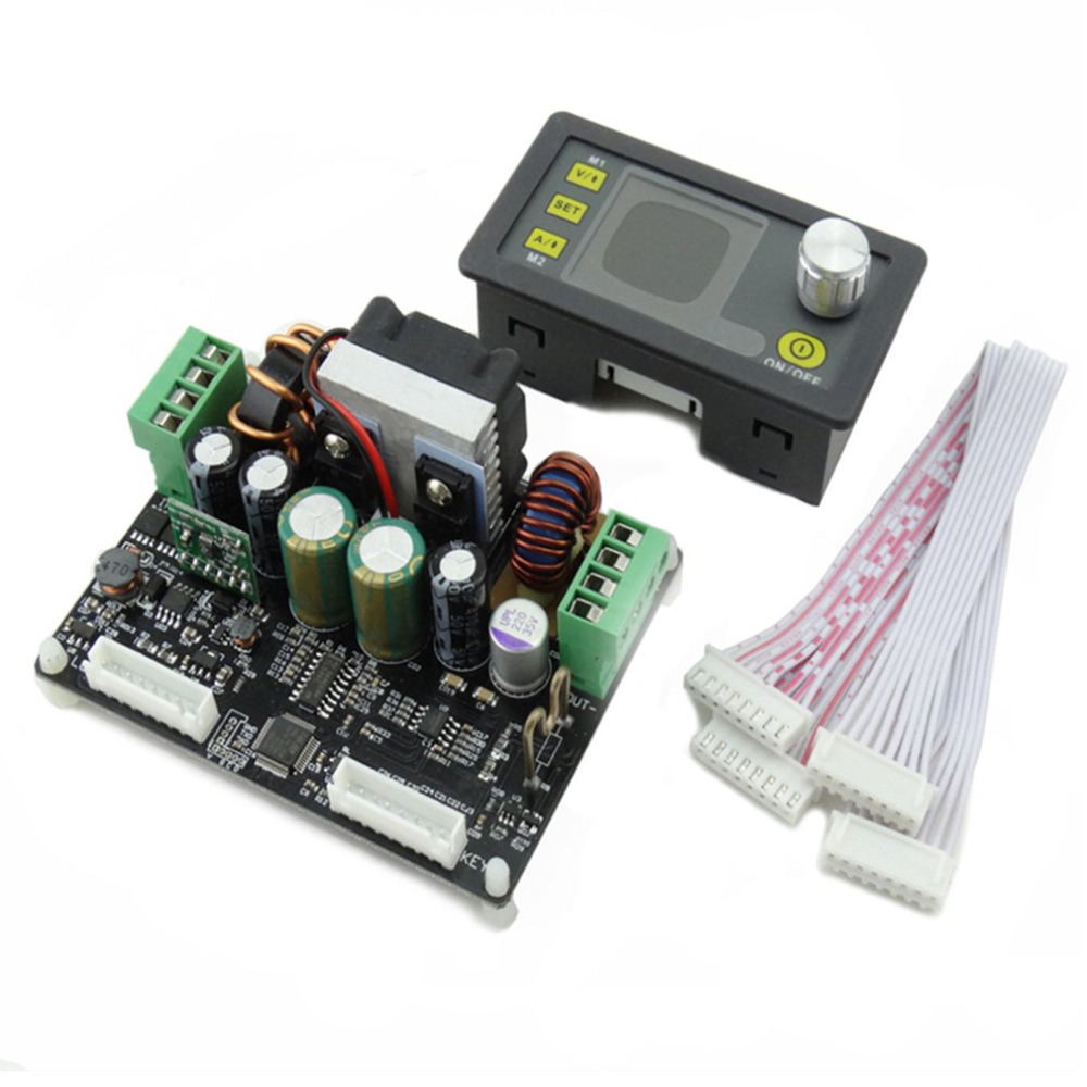DPH3205 Digital Control Power Supply Buck-boost Converter Constant Voltage Direct-current Programmable LCD Voltmeter dps5015 constant voltage current step down programmable digital power supply buck voltage converter color lcd voltmeter 15a