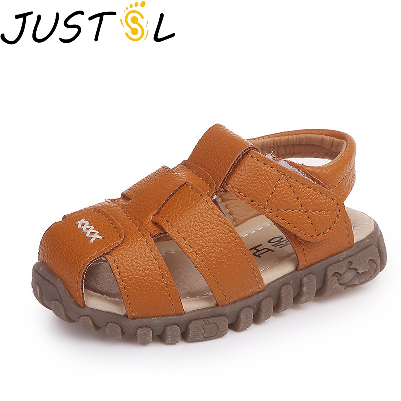 JUSTSL 2018 summer new childrens sandals kids breathable beach shoes baby boys girls non-slip casual sandals size 21-36JUSTSL 2018 summer new childrens sandals kids breathable beach shoes baby boys girls non-slip casual sandals size 21-36