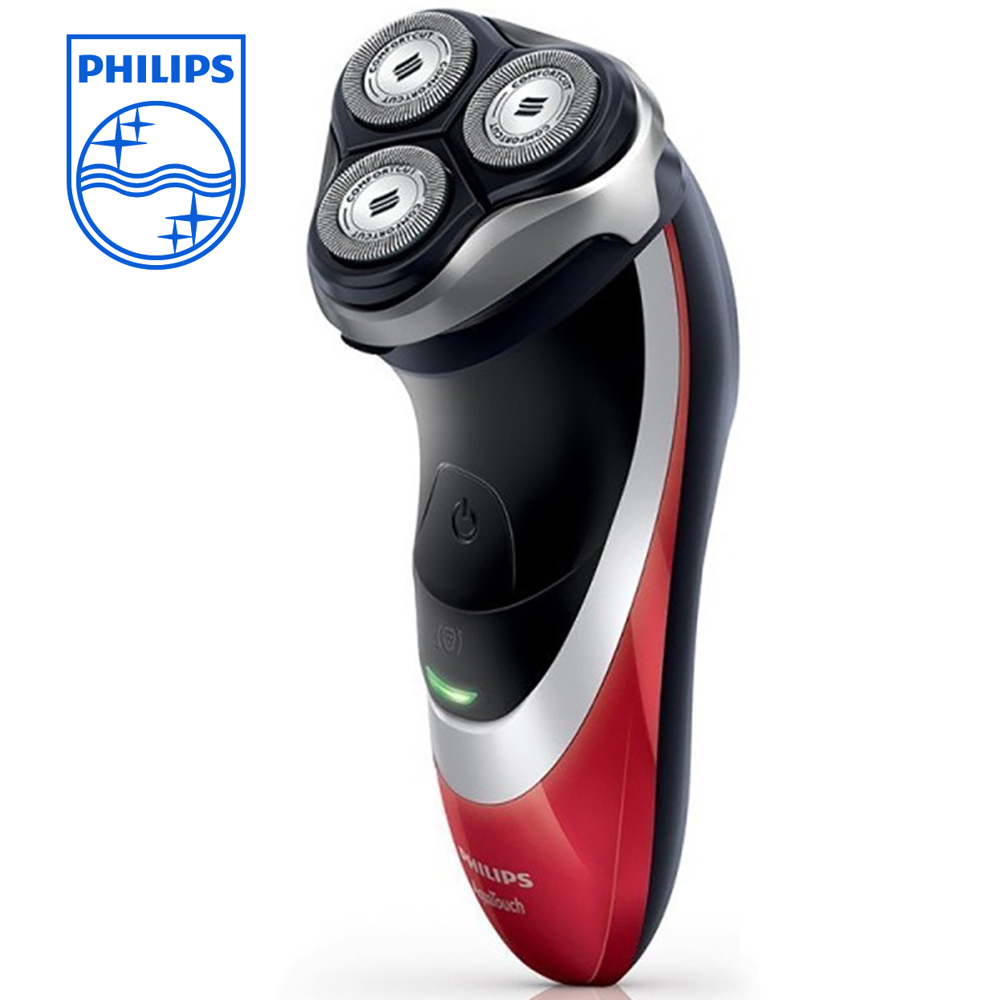 Philips Wet and Dry Waterproof Razor AT800/16 Charging Triple Blade Rotary Shaver with Pop-up Trimmer 1 Hour Fast Charge