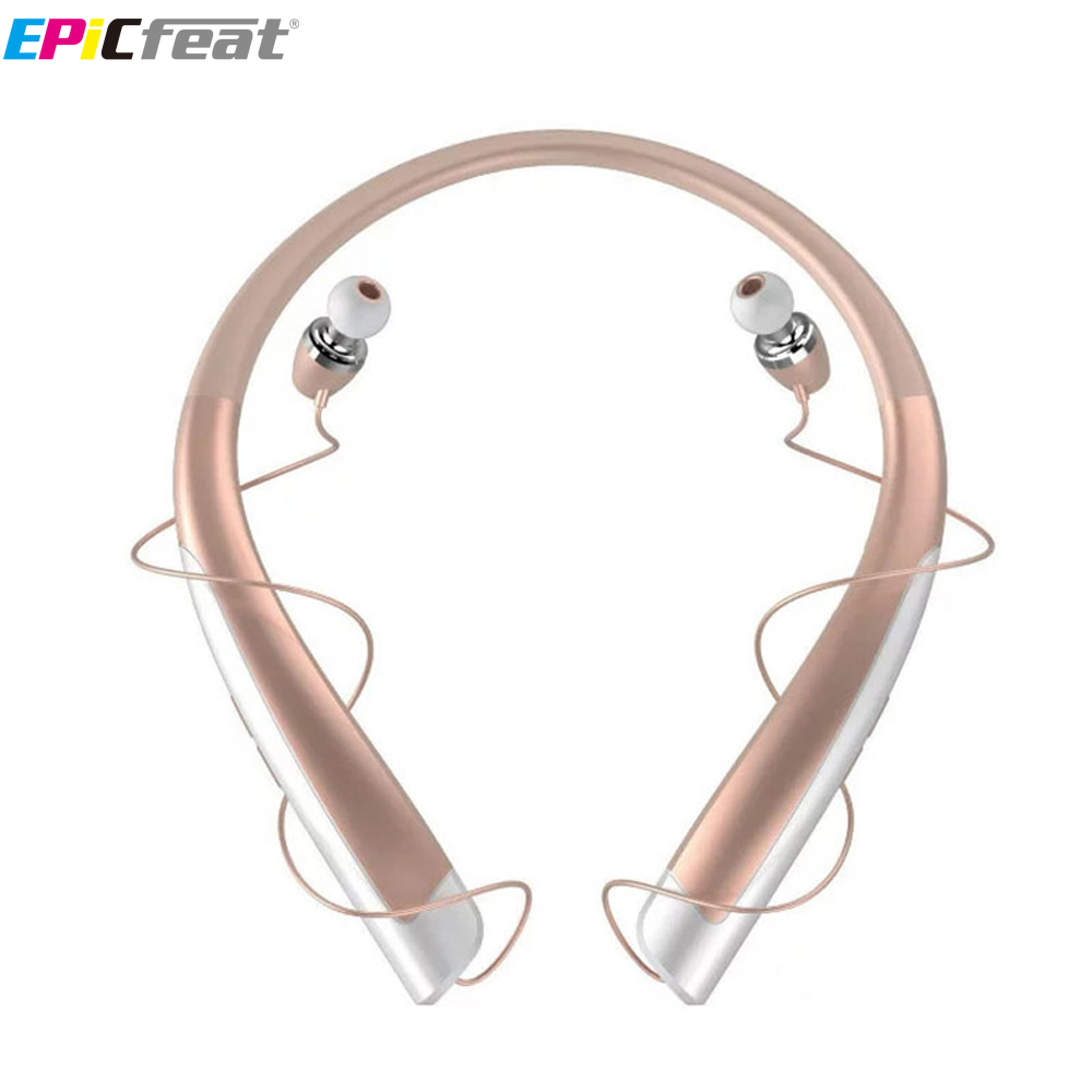 EPiCfeat Bluetooth Wireless Earphones with MIC Headphone for Samsung Xiaomi Phone APP Control Stereo HiFi Sport Headset HBS1100