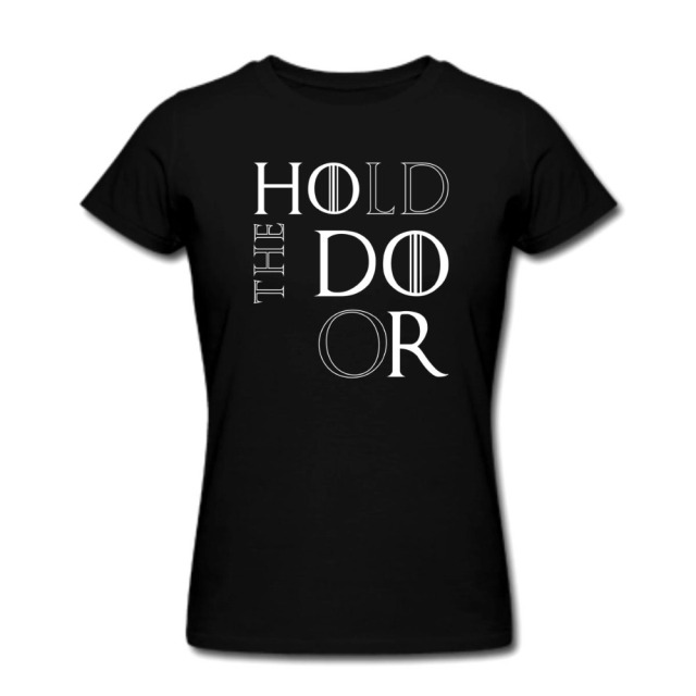 Game of Thrones 100% Cotton Short Sleeve O-neck Casual Women's T-shirt