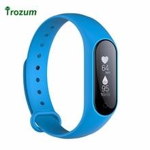 Trozum Y2 плюс Bluetooth Smart Браслет Heart Rate/Приборы для измерения артериального давления кислорода Мониторы IP67 Водонепроницаемый смарт-браслет для iOS и Android