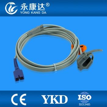 Welch Allyn 53NTP oxiamx  Neonate Silicon Wrap  spo2 sensor, DB9pins, 3m