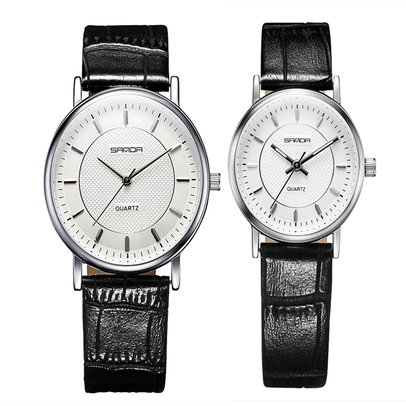 Luxury Brand Watch Lovers Couples Watches for Couples Love Sapphire Loves Watches 2016 Waterproof Watch Pair Quartz Wristwatches