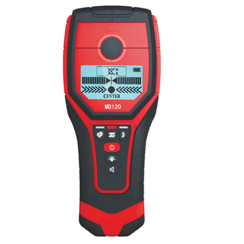 Wall Metal Detector Handheld Multifunctional Wall Scanner Non Ferrous Metal Wood AC Charged Cable Finder Backlit Beep Indication uni t ut387b wall detector multifunctional handheld wall tester metal wood ac cable finder wall scanners