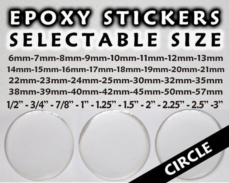 US $1990 0 |2 inch Round custom epoxy stickers 3D Domed Epoxy Resin Self  Adhesive Stickers Custom Domed Labels-in Makeup Mirrors from Beauty &  Health