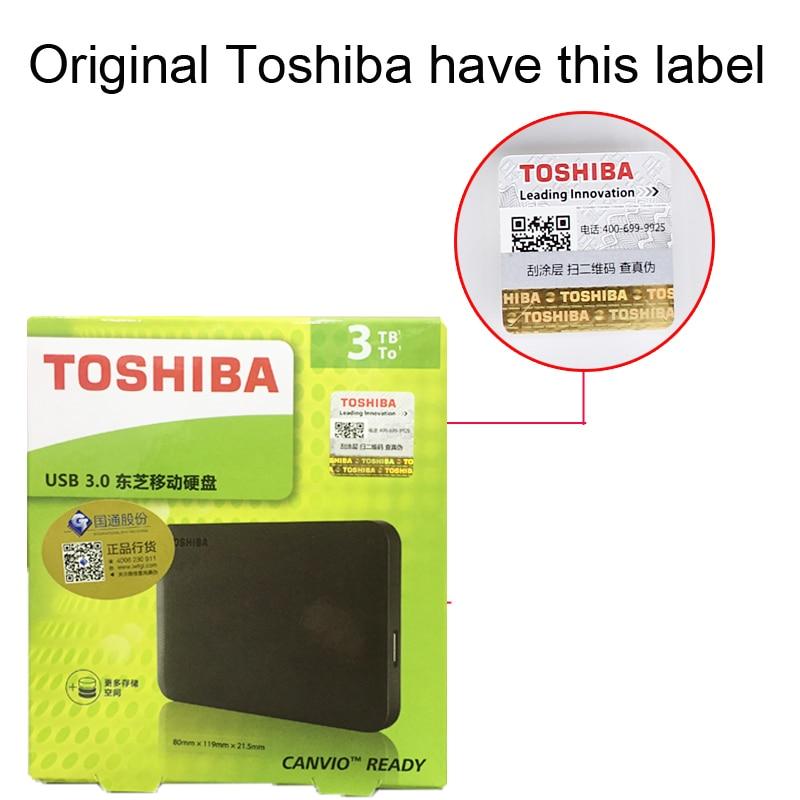 Toshiba disque dur HDD 2.5