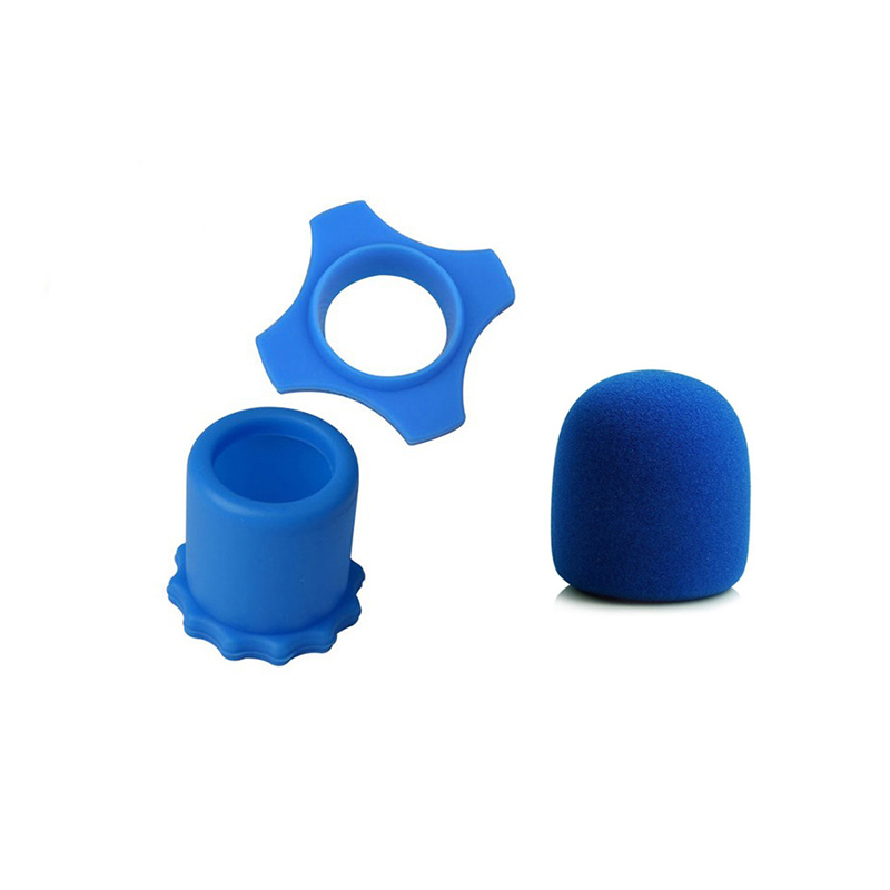 1 Set Microphone Accessories Mic Cover Protection Protector Anti Slip Roller Ring Windscreen Sponge for Karaoke Microphone KTV in Microphone Accessories from Consumer Electronics