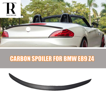 E89 Z4 D Style Carbon Fiber Rear Spoiler for BMW E89 Z4 2009 - 2014 Auto Racing Car Styling Tail Trunk Lid Lip Wing image