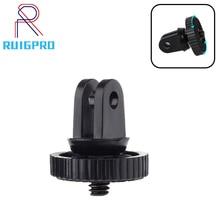 For Mini Tripod Mount adaptor/adapter screw for Gopro Hero 7 6 5 4 SJcam xiaomi Yi 4K sjcam Camera accessories