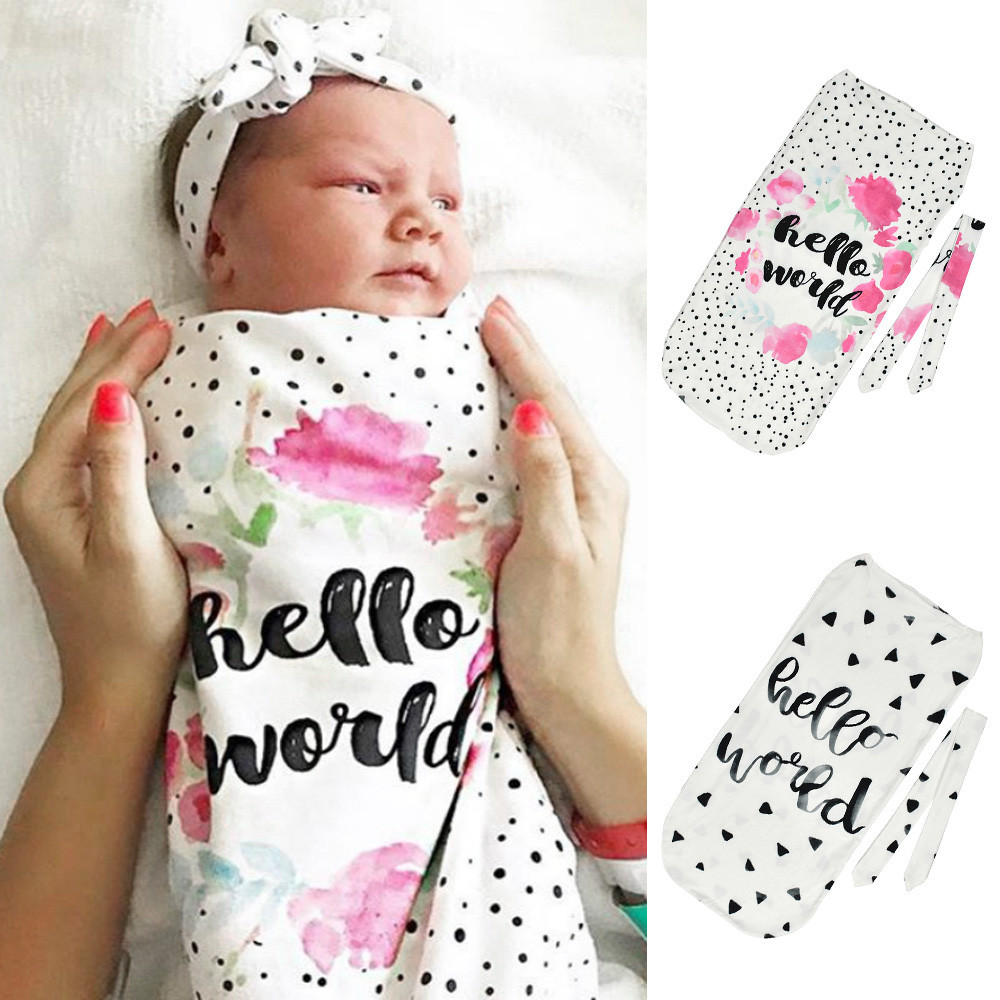 Baby Sleeping Bag Newborn Baby Blanket Swaddle Print Sleeping Bag Kids  Sleep Sack Stroller Wrap Baby Swaddle Bag-in Sleepsacks from Mother   Kids  on ... cf00c505e11d