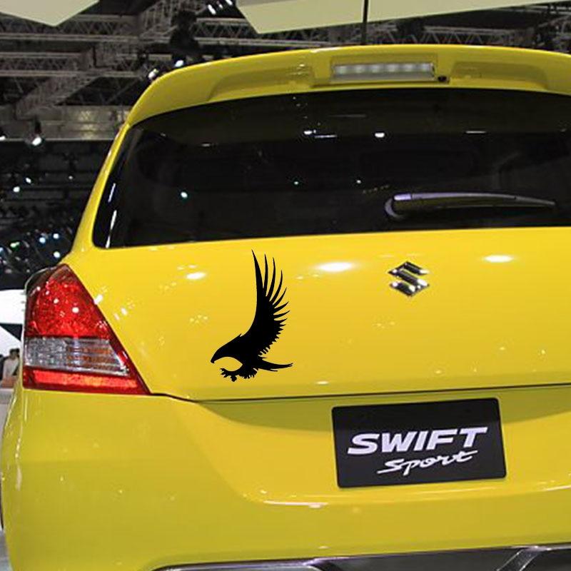 10*15cm Eagle With Its Wings Spread Car Window Bumper Decal Truck Vinyl Car Sticker