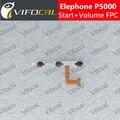 Elephone p5000 fpc volume original para cima/baixo + início Power On/Off Flex Cable Acessórios Para O Telefone Móvel + Free grátis