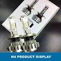 70 w/Pair 9000Lm Coche Faros LED H7 H4 H8/H11 HB3/9005 HB4/9006 Frente Bombilla de Automóviles faro 6000 K Iluminación Del Coche