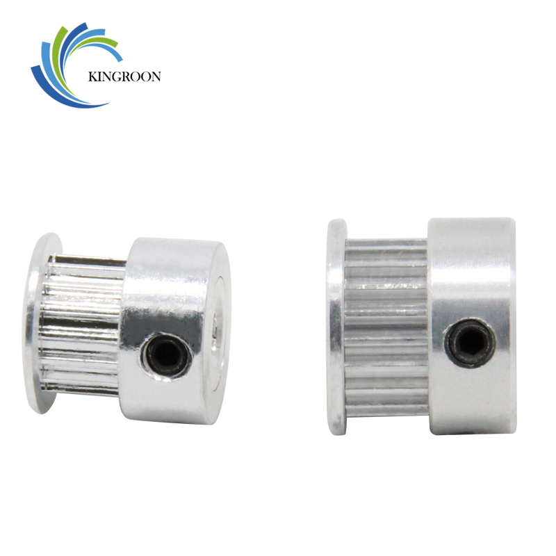 Computer & Office ... Office Electronics ... 32434506931 ... 2 ... GT2 20 tooth Timing Pulley Aluminum 3D Printer Parts 2GT 20teeth Bore 5mm Width 6mm Part Synchronous Wheel Gear with Screw Teeth ...