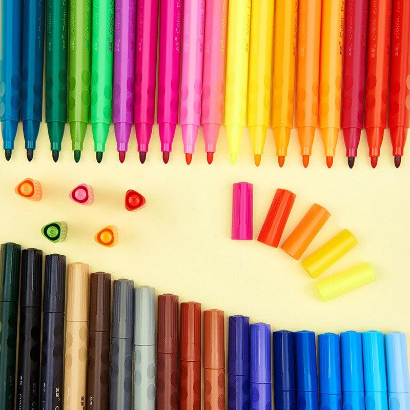 Воды Цвет перо Детский рисунок студент моющиеся ручки детский сад каракули прекрасный творческий Пластик милые индивидуальность канцеляр... ...