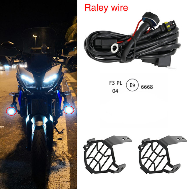 Miraculous Motorcycle Led Fog Light Safety Driving Lamp With Bike Auxiliary Fog Wiring Digital Resources Bemuashebarightsorg