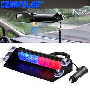 Аварийный мигатель для автомобилей, аварийный мигатель, стробоскоп Предупреждение ющий светильник, дневная ходовая вспышка, светодиодный ...