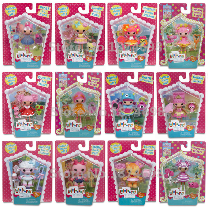 online shop new toys mini lalaloopsy doll minis collection figure
