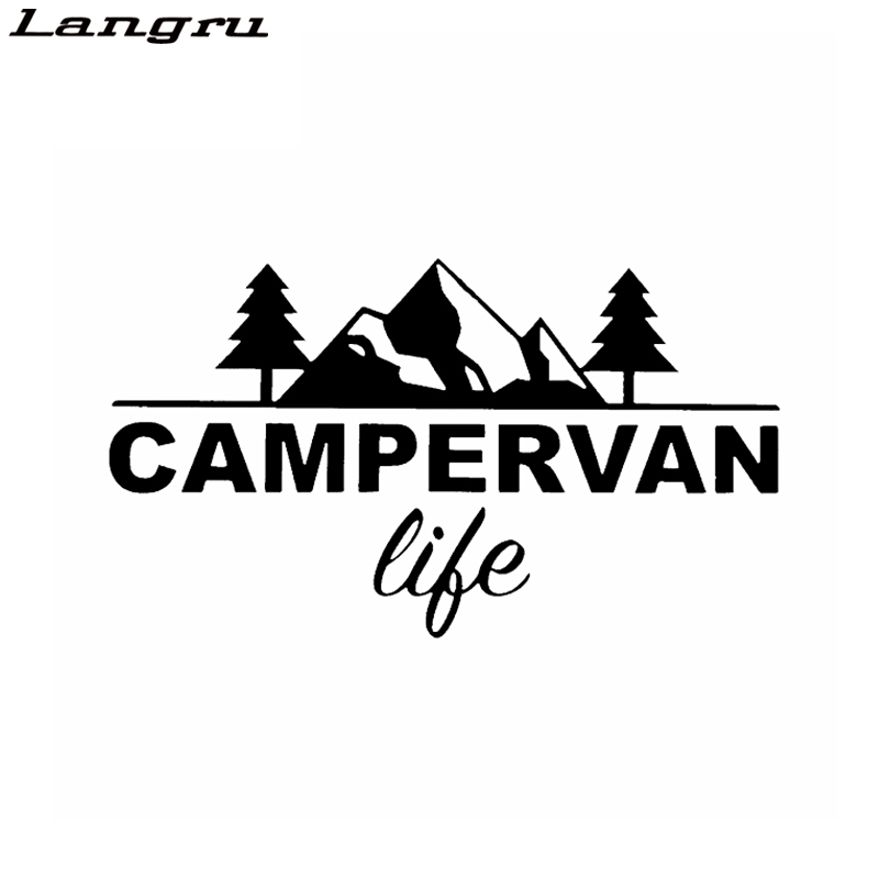Langru Fashion Campervan life Vinyl Wonderful Car Window Sticker Decor Decals Car Accessories Jdm(China)