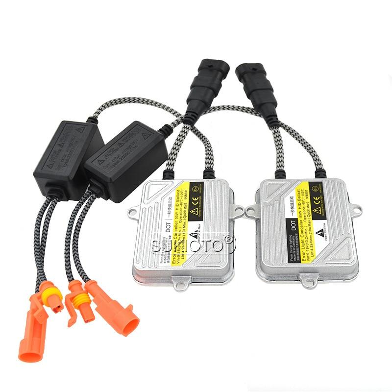 SUKIOTO Xenon H7 Hid Kit D2H D2S 55W H1 H3 H4 xenon Headlight H7 H8 H11 H27 HB3 HB4 9005 Car light xenon HID HEADLAMP Styling (7)