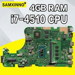 X555LP i7-4510 4 Гб RAM motherboartd для Asus X555LI F555L K555L X555L материнская плата для ноутбука X555LD rev3.1/3,3/3,0/1,1 материнская плата